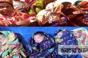 নাটোরে সিজার ছাড়াই একসাথে চার সন্তানের জন্ম: একজনের মৃত্যু (ভিডিও দেখুন)