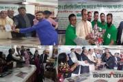 'মিরপুর প্রেসক্লাব'র সভাপতির জন্মদিন উপলক্ষে 'গুণীজনদের সম্মাননা স্মারক' প্রদান