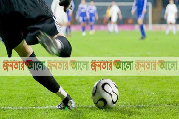 দিনাজপুর হাকিমপুরে মেয়র কাপ ফুটবল টুর্নামেন্টের উদ্ভোধন