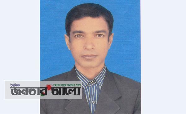 নবাবগঞ্জ উপজেলা পর্যায়ে শ্রেষ্ঠ শিক্ষক মশিহুর রহমান