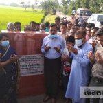 শিবগঞ্জে ২টি রাস্তা পাকা করণ কাজের উদ্বোধন করলেন এমপি জিন্নাহ